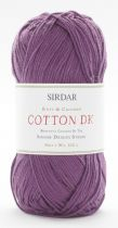 Sirdar Cotton Double Knit 100g - 512 Black Violet - CLEARANCE PRICE £2.99